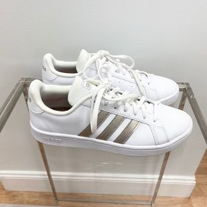 adidas | Grand Court Women's Casual White Sneakers